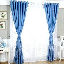 blue toile curtain panels features set includes