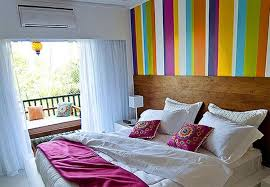 Bright Accent Wall Ideas.