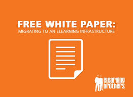 Free White Paper Template Free White Paper Migrating To An Elearning Infrastructure