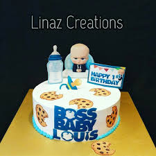 Boss Baby Theme Birthday Cake Need A Customised Cakes Contact Us At