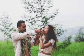 flowers wedding decor bridal musings blog: stunning traditional hawaiian wedding maui maka photography bridal musings wedding blog