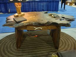 Redwood Slab Dining Table Furniture Live Edge Wooden Desks Natural Live Edge Dining Table