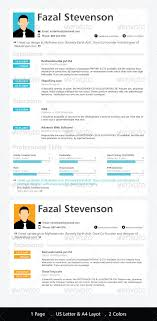 Modern One Page Resumes - Kleo.beachfix.co