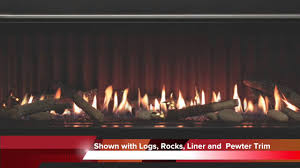 boulevard 60 inch linear fireplace
