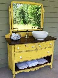 25 Unique Bathroom Vanities Made From Furniture Life On Kaydeross Creek