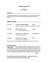 Career Change Resume Examples Server Objective Resume Samples For Job Examples Career Change 59