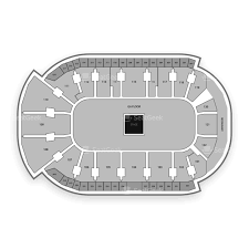 Wfcu Centre Seating Chart Map Seatgeek