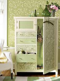 how to wallpaper furniture. use shelve paper or wall to add some color and interest your old bureau how wallpaper furniture