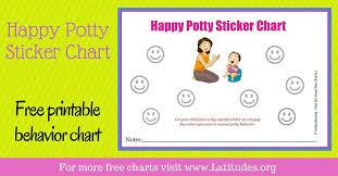 Smiley Face Behavior Chart Printable Free Potty Training Sticker Chart Happy Mom Acn Latitudes