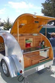 Camper Trailer Kitchen 17 Best Images About Teardrop Trailers On Pinterest Diy Teardrop