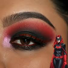 "Bat Woman ""Kathrine Kane"" Inspired makeup   Corina G.'s (velvet702) Photo    Beautylish"