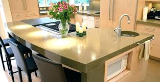 caring for concrete countertops care of concrete as well as concrete and island to frame amazing caring for concrete countertops