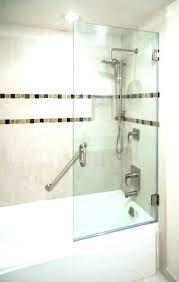half glass shower doors half glass shower door for bathtub half glass shower door for half half glass shower doors