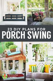 Small Picture 23 Free DIY Porch Swing Plans Ideas to Chill in Your Front Porch