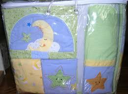 lambs and ivy goodnight star moon crib bedding 6 piece set