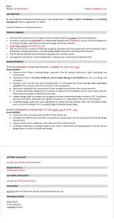 Senior Architect Resume Download Free Sample Architect Resume 18