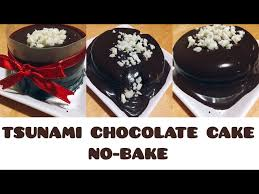 Cake tsunami reviewed by elna bakery on kamis, januari 17th, 2019. Moist Chocolate Tsunami Cake No Bake No Oven Quick Easy Recipe How To Make دیدئو Dideo