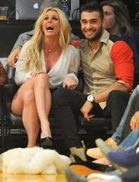 Sam asghari is britney spears' new boyfriend! Britney Spears Kisses 23 Year Old Boyfriend Sam Asghari And Flashes Her Legs In Short Skirt As They Take Her Sons To A Basketball Game