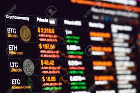 New York Usa July 14 2017 Bitcoin Exchange To Dollar Rate