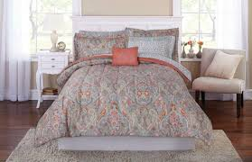 mainstays scroll in a bag coordinating bedding set traditional bed nwtvci1826 bed in a bag