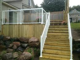 glass railing system for decks glass deck railing pressure treated deck with regal glass railing with glass railing system for decks
