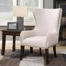 Accent Wingback Chairs Laurel Hill Fabric Wingback Accent Chair