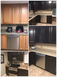 Cabinet Refacing Ideas Concept Stripping And Restaining Kitchen