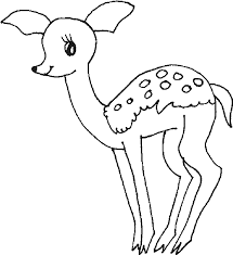 Small Picture baby deer coloring pages BestAppsForKidscom