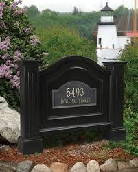 Decorative Sign Posts Address Sign Post Oasis Amor Fashion 83