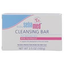 Gentle <b>Cleansing Bar</b> for Sensitive <b>Baby</b> Skin | <b>Sebamed</b>