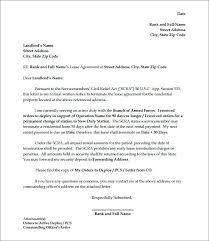 Sample Commercial Lease Termination Letter Early To Landlord ...