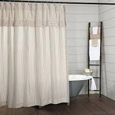 black and white striped shower curtain best of piper classics farmhouse ticking stripe horizontal bl