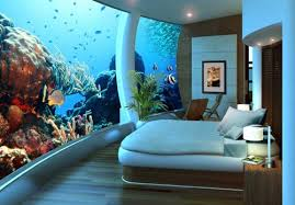 20 Of The Coolest Wall Fish Tank Designs  Bedroom Wall Designs Fish Tank Room Design
