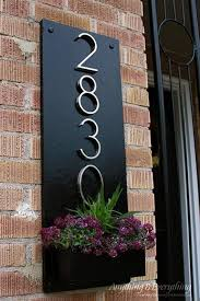 home address plaques. Decorative House Number Signs Aluminum Address Plaques Plater Box Home