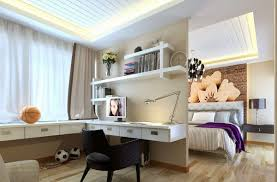 office space decor. decorations fantastic home office space decor with l shape modern white computer desk sliding storage and textured wood floor near bedroom tips to