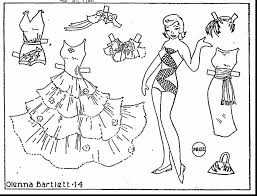 Small Picture terrific printable paper dolls coloring pages with doll coloring