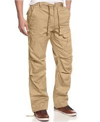 Mens Pleat Pocket Flight Cargo Pants Created For Macys