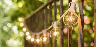 patio string lights outdoor bistro lights