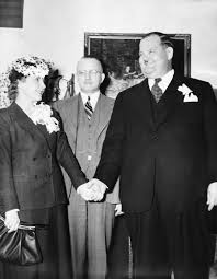 Inside the disastrous love lives of movie legends Laurel and Hardy who had  nine 'wives' between them and a string of affairs