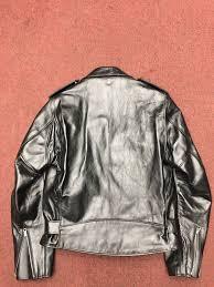 schott horsehide perfecto leather jacket