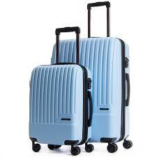 Light Luggage Sets Davis Light Blue 2 Piece Set Luggage Luggage Sets