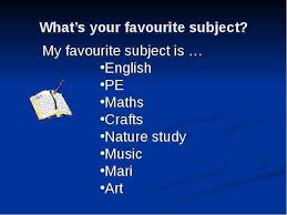 my favourite subject english essay for kids