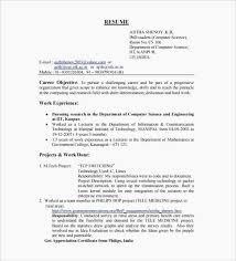 Mechanical Engineering Resume Templates Unique Sample Resumes Resume
