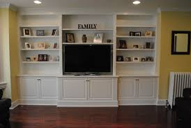 Wall Units, Outstanding Built In Tv Cabinets Built In Tv Wall Units White  Shelves Cabinets