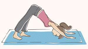 Image result for yoga pose down dog
