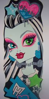 Monster High Bedroom Decorations 17 Best Images About Maddies Monster High Room On Pinterest