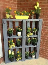 garden shelves. 25 DIY Pallet Shelves For Storage Your Things | 101 Pallets Garden D