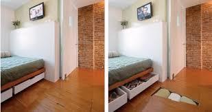 View in gallery Source  Under Floor Bedroom Storage StashVault