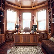 office wood. Wood Clad Home Office Design