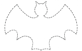 Hanging Bat Template Halloween Printable Functional But 29 Of Craft ...